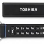Toshiba 推出搭載數字按鍵鎖的隨身碟