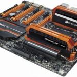 Corsair 與 GIGABYTE 合作,橘色 Dominator Platinum 記憶體亮相