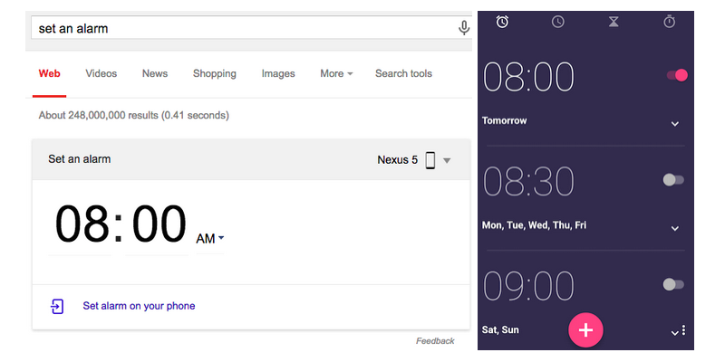 set-alarm-card-android-clock-app-screenshot-group