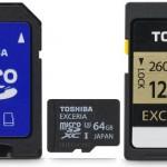 讀寫速度取勝 Toshiba 新款 SD 卡搶專業市場