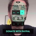 捐款只要一眨眼,Eye Click Donate 帶你體會漸凍人的痛苦