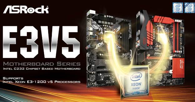 asrock-e3v5-motherboard-series-intel-c232-chipset-based-part-img-top