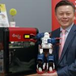 三緯國際進駐特力屋,推 3D 列印機器人互動服務