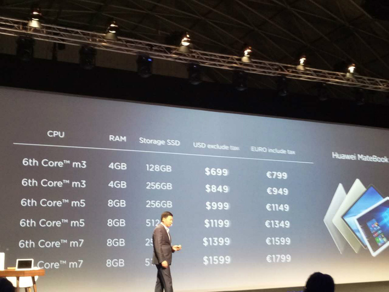 huawei-matebook-prices-yu-chengdong-mwc-2016-part-36kr
