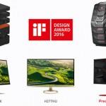 宏碁獲 2016 年 iF 設計獎,迷你 PC、電競新品囊括入袋