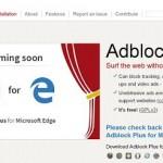 AdBlock Plus 開始製作 Microsoft Edge外掛程式