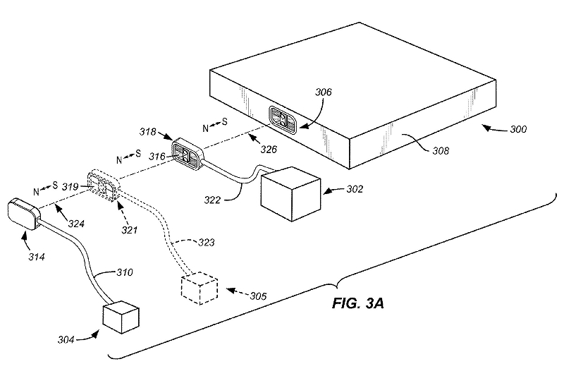 stackable-magnetically-retained-connector-interface-apple-patent-fig-3a-part1