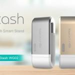十銓推 iPhone 影音用隨身碟 MoStash,採雙 J 專利支架型