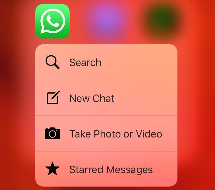 whatsapp-2-12-14-3d-touch-shortcut-menu-home-screen-iphone-6s-screenshot