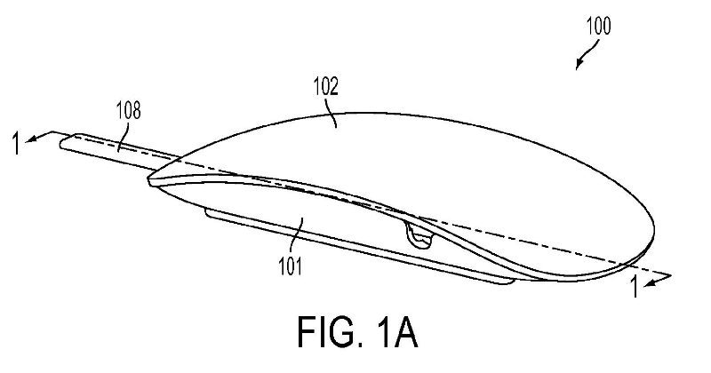 force-sensing-mouse-us-20140225832-a1-apple-patent-fig-1a-part