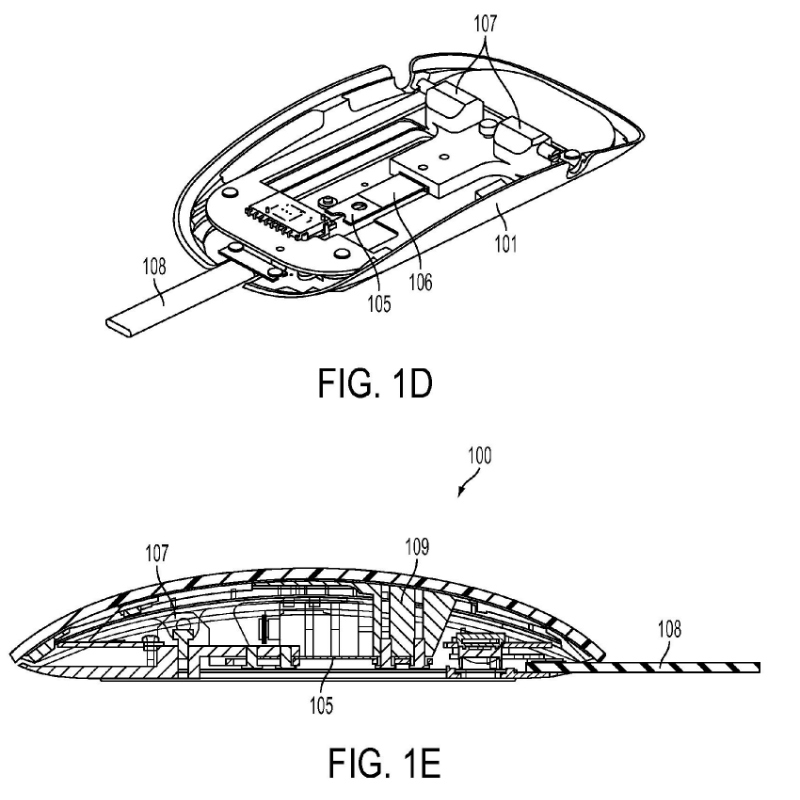 force-sensing-mouse-us-20140225832-a1-apple-patent-fig-1d-1e-part