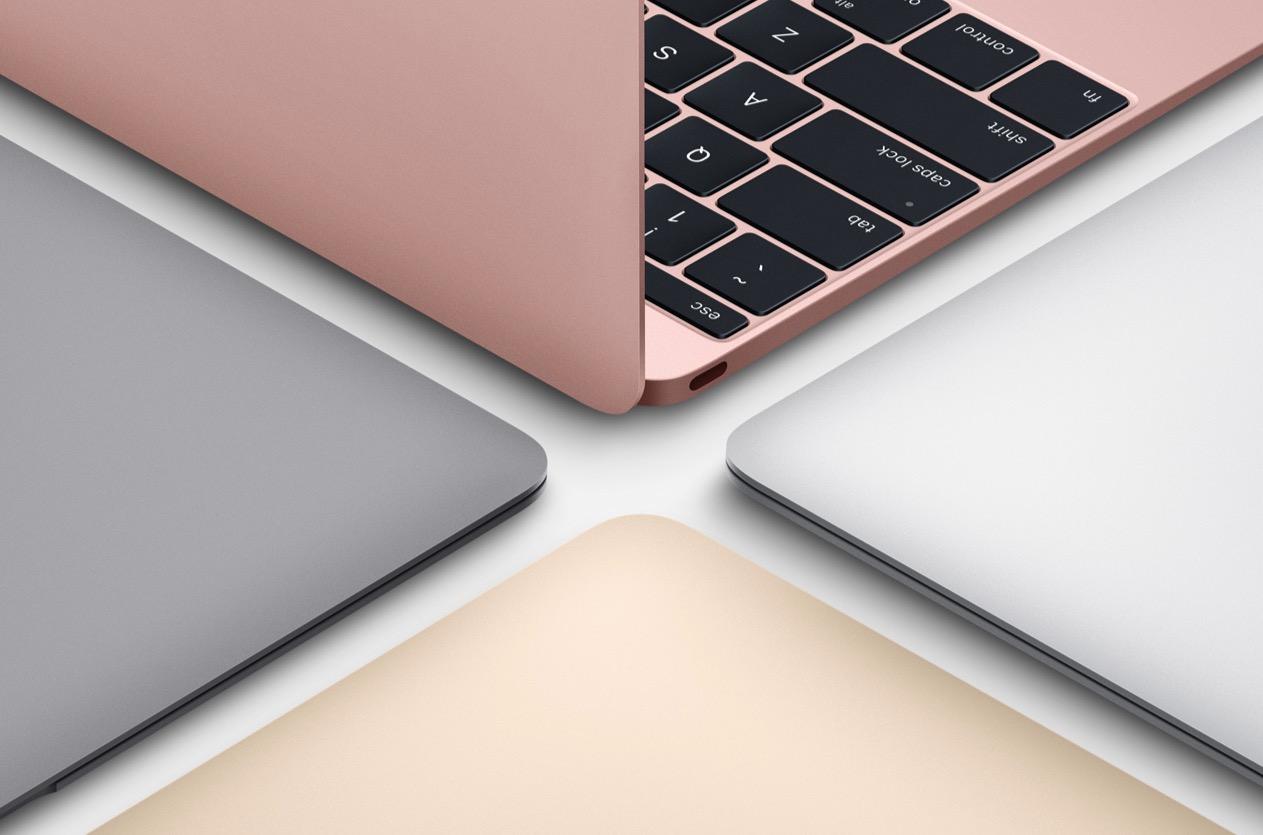 rosegold macbook