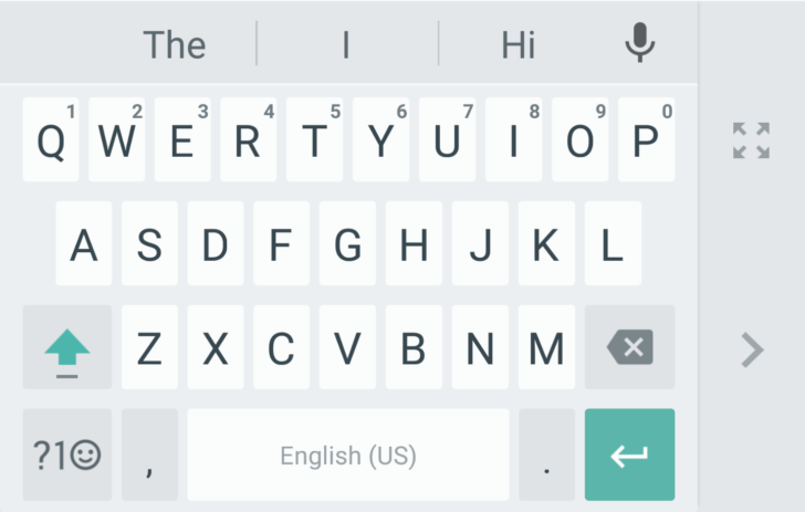 Google's Android keyboard now has a one-handed mode_003